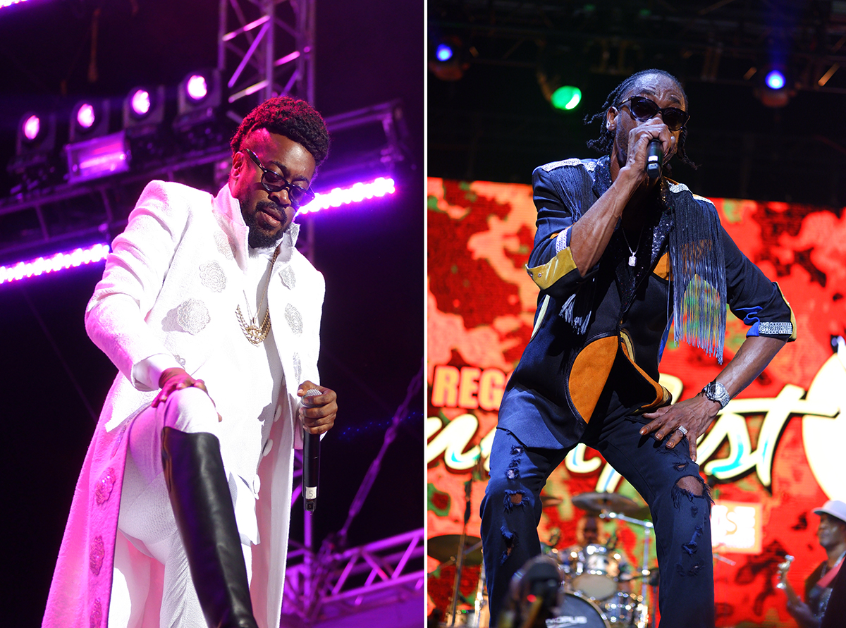 Beenie Man and Bounty Killer Reggae Sumfest